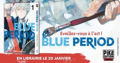 Le manga de l'année 2021 serait-il Blue Period ?