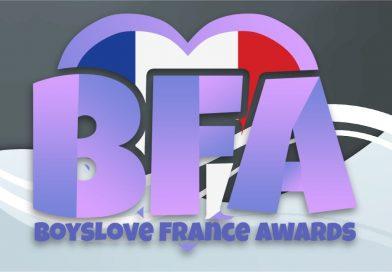 Les résultats des Boy's love France awards 2021